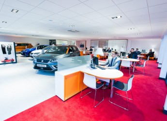 Agnew SEAT AutoExchange Showroom