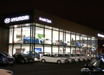 Arnold Clark Hyundai Car Showroom
