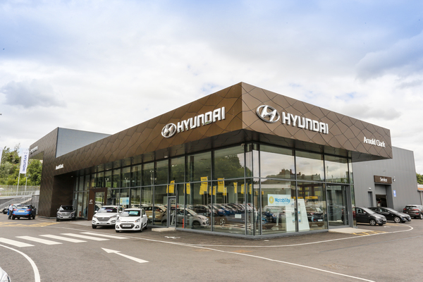 Arnold Clark Hyundai Car Showroom Project Martin